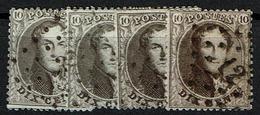 14B  Obl  4 Nuances - 1863-1864 Medallones (13/16)