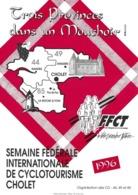 Affichette Pour La Semaine Fédérale Internationale De Cyclotourisme à Cholet En 1996. - Cycling