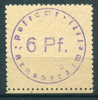 SBZ/Lokalausgaben Arnsberg - Michel 1 Pfr.** Sign. Busch - Soviet Zone