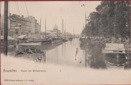 Brussel Bruxelles Canal De Willebroeck Kanaal Van Willebroek Edit. Wilhelm Hoffmann A.G. Dresden CPA - Maritiem
