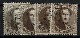 14A  Obl  4 Nuances - 1863-1864 Medallones (13/16)