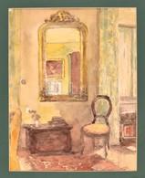 Jelzés Nélkül: Enteriőr. Akvarell, Papír, 33×26 Cm - Other Collections
