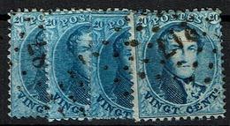 15A  Obl  4 Nuances - 1863-1864 Medallones (13/16)