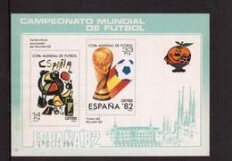 Spain-1982,( Souvenir  Bl.15(green),Football, Soccer, Fussball,calcio,MNH - 1982 – Spain