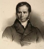 1853 Jacques-Charles Dupont De L'Eure (1767-1855) Francia Jogász, Politikus Nagyméretű Kőnyomatos Portréja. Maurin Litog - Engravings