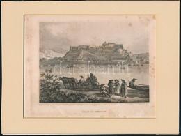 Cca 1840 Esztergom. Acélmetszet. Foltokkal. 11x15 Cm - Engravings