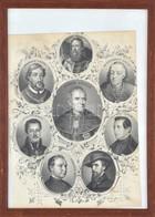 1854 Egri Hírességek, Eger Város életében Fontos Szerepet Játszó Emberek Kőnyomatos Portréja. Pyrker János László, Telek - Engravings