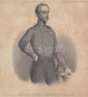 Alfred Ferdinand Zu Windisch-Grätz Herceg (1787-1862) Császári és Királyi Tábornagy, Az 1848-49-es Magyar Szabadságharc  - Engravings