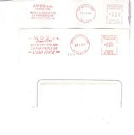 2 EMA FRANCE WASSELONNE CHAUSSURE SHOE SCHUH PANTOUFLE AMI FRITZ AMOS 1986 1971 - Usines & Industries