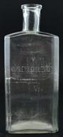 Régi Pincetok üveg, Kopásnyomokkal, M: 27,5 Cm - Glass & Crystal