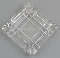 Ólomkristály Hamutál 12x12 Cm - Glass & Crystal