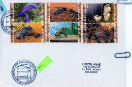2715/20 (série Apiculteurs) Sur Lettre Avec Cachet De Premier Jour De Vente (voir Scan & Descr) - Postmark Collection