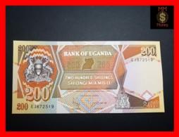 UGANDA 200 Shillings 1997 P. 32 B  UNC - Uganda