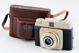 Ilford Sporti 4 Fényképezőgép, Eredeti Bőr Tokjával, Szép állapotban / Vintage Ilford Camera In Nice Condition, With Ori - Cameras