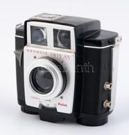 Kodak Eastman Brownie Twin 20 Fényképezőgép, Kis Lepattanással, Működőképes állapotban / Vintage Kodak Camera, In Workin - Cameras