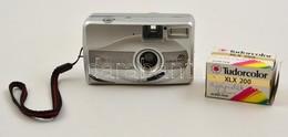 Fujifilm Clear Shot MII Filmes Automata Fényképezőgép, 2 Db Exponálatlan Filmmel, Elemmel, Működik - Cameras
