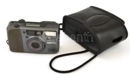Pentax Espio 115M Filmes Kompakt Fényképezőgép, Jó állapotban, Eredeti Tokjával, Lemerült Elemmel, Nem Kipróbált - Cameras