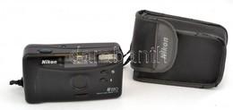 Nikon AF 220 Lens 29mm 1:4.5 Fényképezőgép, Tokkal, Működik - Cameras