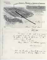 28 - Eure-et-loir - CHATEAUDUN - Facture ALLARD - Machines Pour Tanneries Et Corroieries - 1903 - REF 286 - France