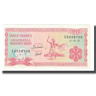 Billet, Burundi, 20 Francs, 1991, 1991-10-01, KM:27c, SUP - Burundi