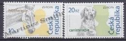Czech Republic - Tcheque 2006 Yvert  433/ 34, Europe, Integration. Horse, Dog - MNH - Tschechische Republik