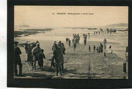 CPA - MOGADOR - Déchargement à Marée Basse, Animé - Maroc