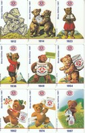 Kompl. Set 9 X Germany Chip Phonecard O 203/211-97 Ex 1500 Bären Edition 1997 RAR - Alemania