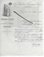 33 - Gironde - LE BOUSCAT - Facture COMBES-PISTRE - Vins Du Médoc - 1893 - REF 286 - France