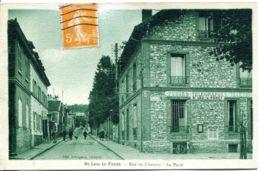N°9173 -cpa St Leu La Forêt -postes-télégraphes- - Postal Services