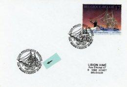 2726 (expédition Antarctique) Sur Lettres Avec 2 Cachets DIFFERENTS Prévente & 1er Jour (voir Scan & Descr) - Postmark Collection
