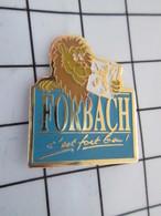 516b Pin's Pins / Beau Et Rare / THEME : VILLES / LION FORBACH C'EST FORT BEAU Mais Pas For Me ! - Villes