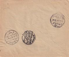072/31 -- EGYPT TPO'S - BIRMA KAFR EL ZAIYAT And TANTA SA EL HAGAR 1914 On Cover 5 Mills CAIRO To EBIAR - 1915-1921 Protectorat Britannique