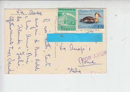 VENEZUELA  1962 - Yvert A 770 - 557 - Cartolina Per Italia - Venezuela