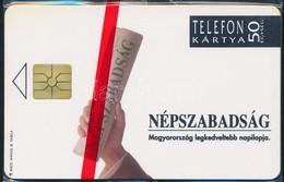 1992 Használatlan Népszabadság Telefonkártya, Bontatlan Csomagolásban - Phonecards
