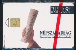 1992 Használatlan, Sorszámozott Népszabadság Telefonkártya, Bontatlan Csomagolásban - Phonecards