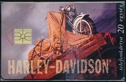 1996 Harley Davidson Használatlan Telefonkártya, Bontatlan Csomagolásban, Sorszámozott. Csak 2500 Db! - Phonecards