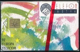 1992 Europa Telekom Használatlan Telefonkártya, Bontatlan Csomagolással. - Phonecards