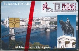 1994 Budapest, Szent István Szobor Telefonkártya Használatlan, Bontatlan Csomagolásban. Sorszámozott. Csak 2000 Db! - Phonecards