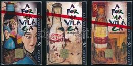 1996 A Coca Cola Formavilága 3 Db Telefonkártya Használatlan, Bontatlan Csomagolásban - Phonecards
