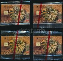 1995 AEB Dukát 4 Db 20 Egységes Telefonkártya, Megjelent 4000 Példányban, Bontatlan Csomagolásban - Phonecards
