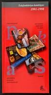Telefonkártya Katalógus 1991-1998. Új állapotban - Phonecards