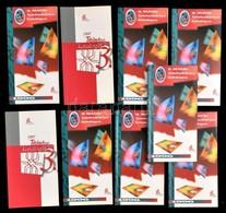 9 Db Telefonkártya Katalógus 7 Db 1996-os és 2 Db 1997-es - Phonecards
