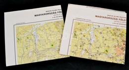 1968 Veszprém Megye Földtani és Gazdaságföldtani Térképe, 2 Db, 1:200 000, Kiadja: Magyar Állami Földtani Intézet - Mapas
