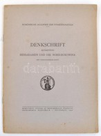 Denkschrift Betreffend Bessarabien Und Die Nord-Bukowina. Bukarest, 1940, Accademia Romena. Vitairat Besszarábia és Észa - Mapas