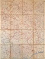 1941 Keleti-Kárpátok Katonai Térkép (Kárpátalja, Erdély, Bukovina, Románia Részeivel). M. Kir. Honvéd Térképészeti Intéz - Mapas