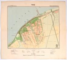 1929 Fonyód Térképe, Kiadja: M. Kir. Állami Térképészet, 1:10 000, 44×49 Cm - Mapas