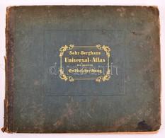 Sohr-Berghaus Universal-Atlas Der Neueren Erdbeschreibung über Alle Theile Der Erde In 114 Blättern. Herausgegeben Von D - Mapas