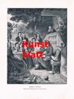 1826 W. Lindenschmitt Friedrich Schiller Weimar Kunstblatt 1905 !! - Stampe