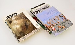 Cca 2000-2010 Vegyes Nagyrészt Művészeti Folyóirat Tétel, 31 Db, Közte A Balkon Művészeti Folyóirat 11 Száma, Új Művésze - Documentos Antiguos