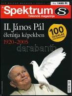 2005 A Spektrum Televízió Magazinja, II. János Pál életútja Képekben 1920-2005, 98p - Documentos Antiguos